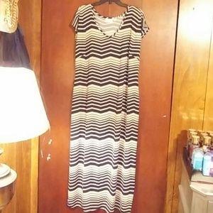 Avenue maxi dress